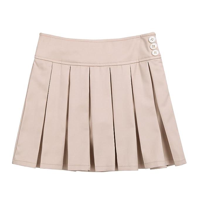 f64756861 MSemis Falda Escocesa Plisada Faldas Pantalón Uniforme Escolar para ...