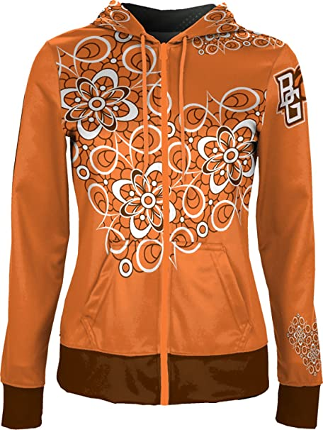 Drip School Spirit Sweatshirt ProSphere Bowling Green State University Womens Zipper Hoodie