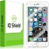 iPhone 7 Plus Screen Protector (Maximum Coverage), IQ Shield LiQuidSkin Full Coverage Screen Protector for iPhone 7 Plus HD Clear Anti-Bubble Film