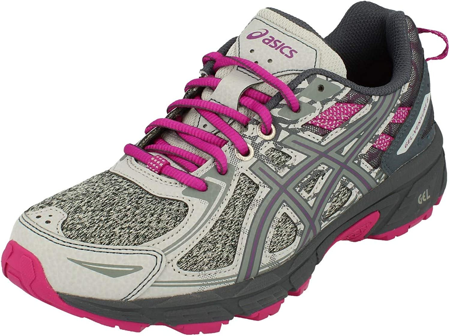 ASICS Gel-Venture 6 Femmes Running Trainers 1012A504 Sneakers Chaussures