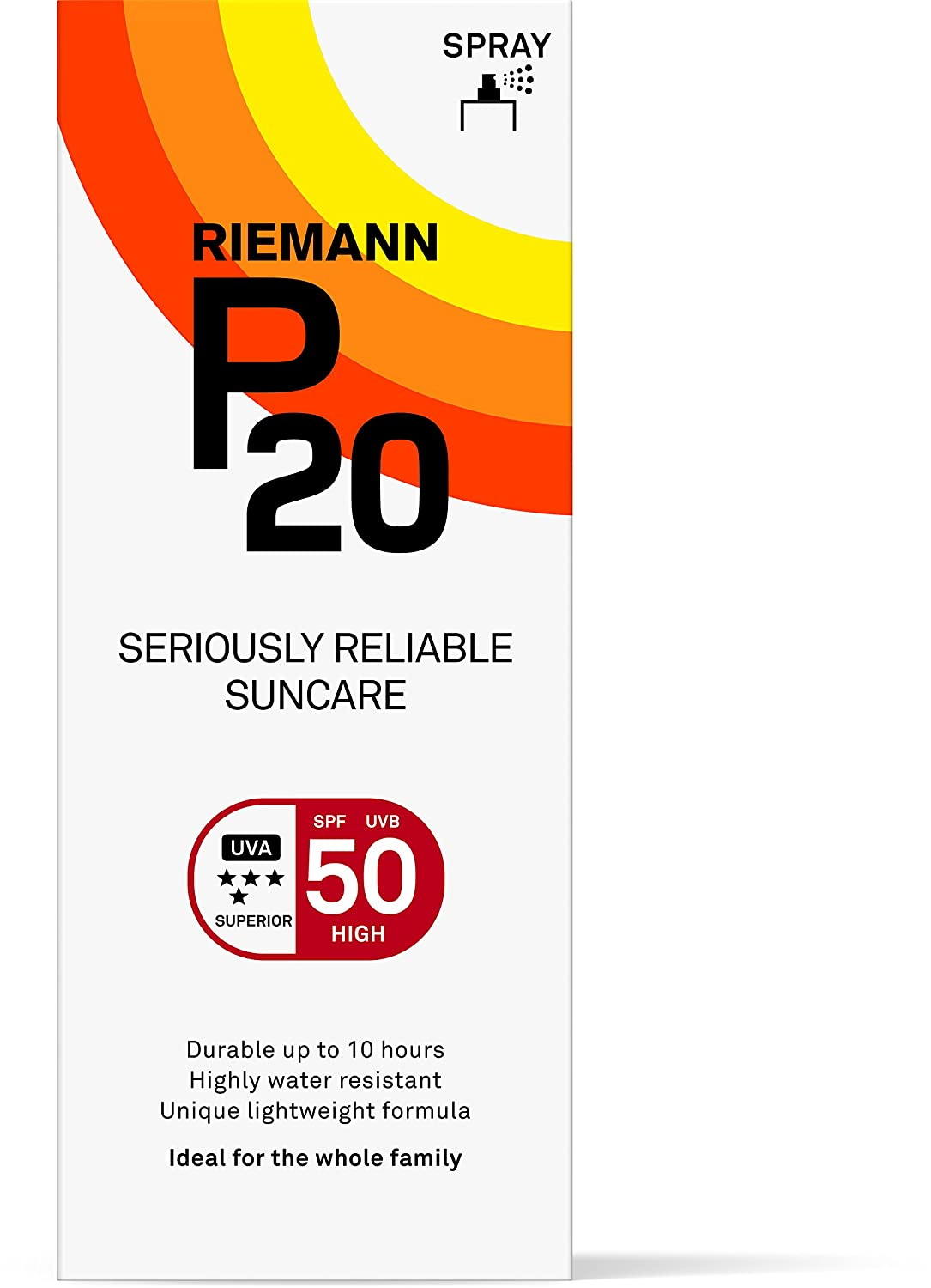 Riemann P20 Spf50 Plus Sunscreen 200ml RC05324 B00APL4KXC