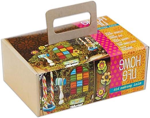 Miniaturas gitanas para decoración de jardín y Patio de StudioM, en Caja de Regalo, Kit de jardín pequeño, 7 Piezas, para la Vida en casa: Amazon.es: Jardín