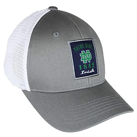 49999100648 Image Unavailable. Image not available for. Color  Top of the World Notre  Dame Fighting Irish Official NCAA Adjustable Ranger 26 Hat Cap Mesh