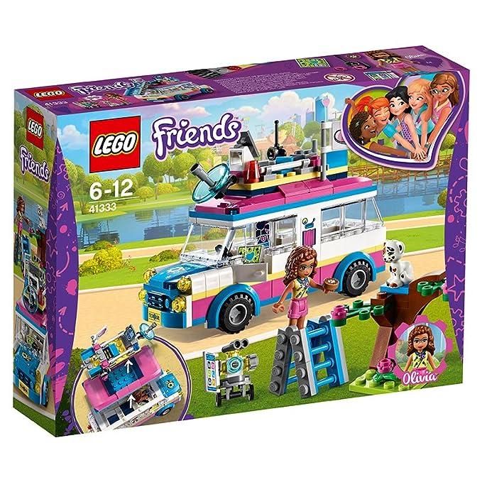 Lego 41333 Friends Heartlake Olivias Mission Toy Vehicle Olivia