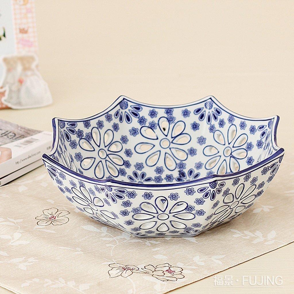 Antique living room ceramics practical fruit dish coffee table Home Decoration Fruit basket fruit Accept the basket