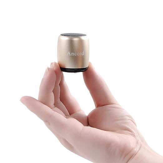 2 opinioni per Piccolo Altoparlante Bluetooth Portatile da Ancord Piccolo Corpo Forti Voice