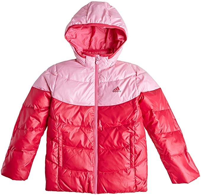 f3c1dfe69 adidas Girls Winter Down Jacket Pink Junior: Amazon.co.uk: Clothing