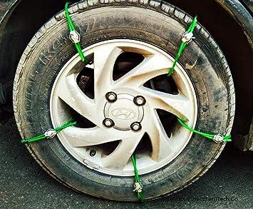 Fácil ajuste universal suave metal acero hielo nieve antideslizante barro Climb Tire Cadenas para Van ATV