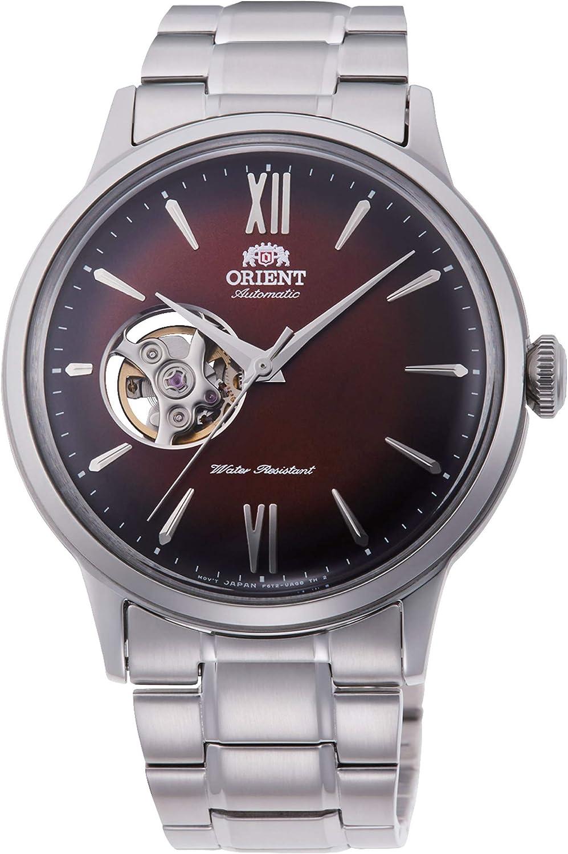 Orient RA-AG0027Y10B - Reloj de Pulsera para Hombre, Amaranto/Metálico