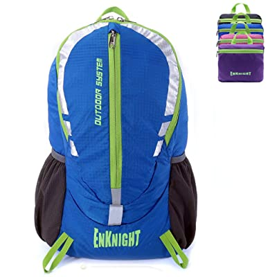 71a4fcf830 ENKNIGHT 28L Unisex Lightweight Foldable Waterproof Travel Backpack Hiking  Daypack