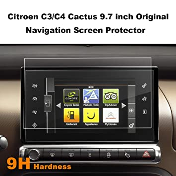 LFOTPP Tempered Glass GPS Navigation Screen Protector For