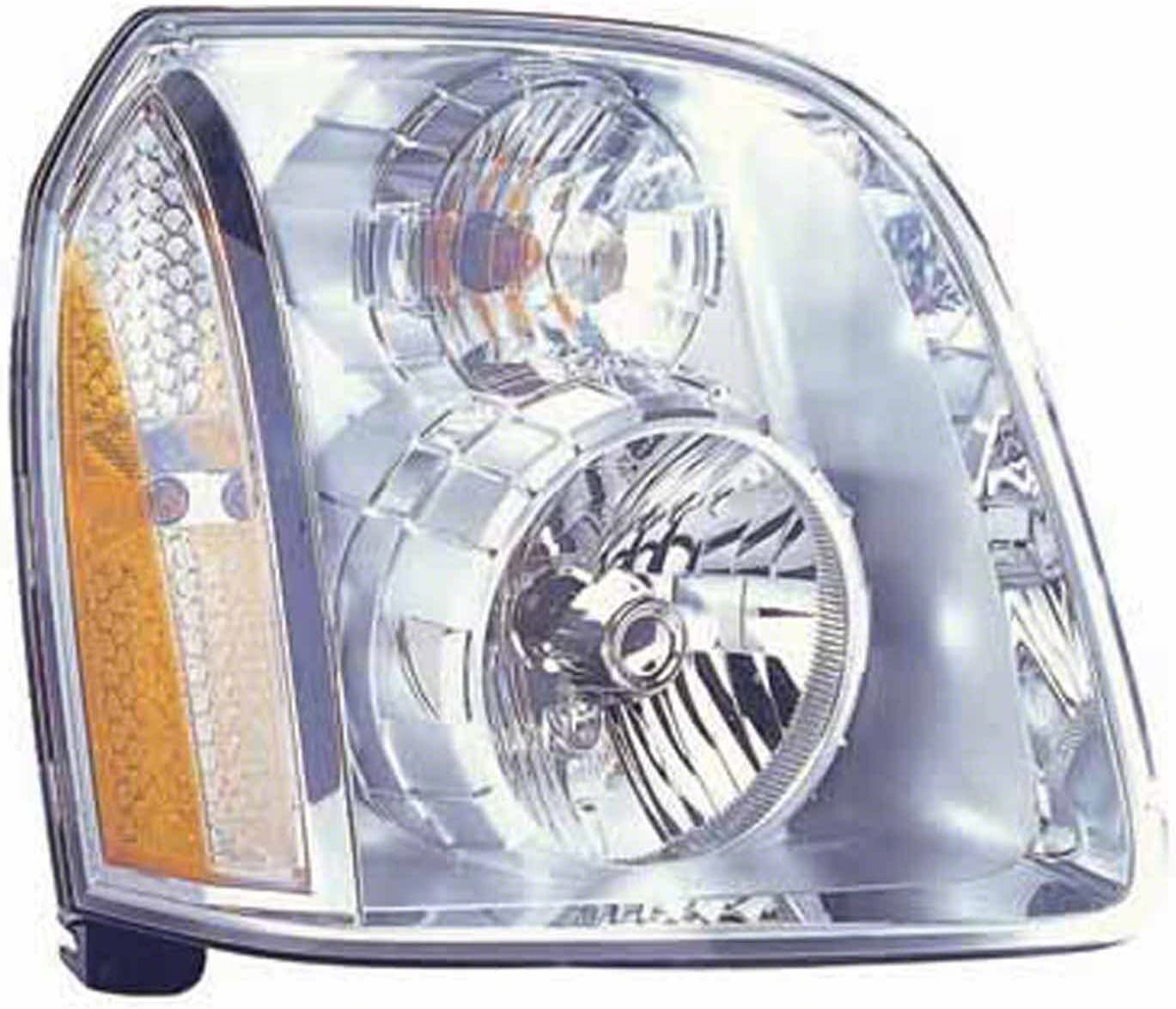 No variation Headlight Assembly Multiple Manufactures GM2503318N Standard
