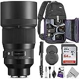 Sigma 135mm f/1.8 DG HSM アートレンズ SONY Eマウントカメラ用 アドバンストフォトとトラベルバンドル
