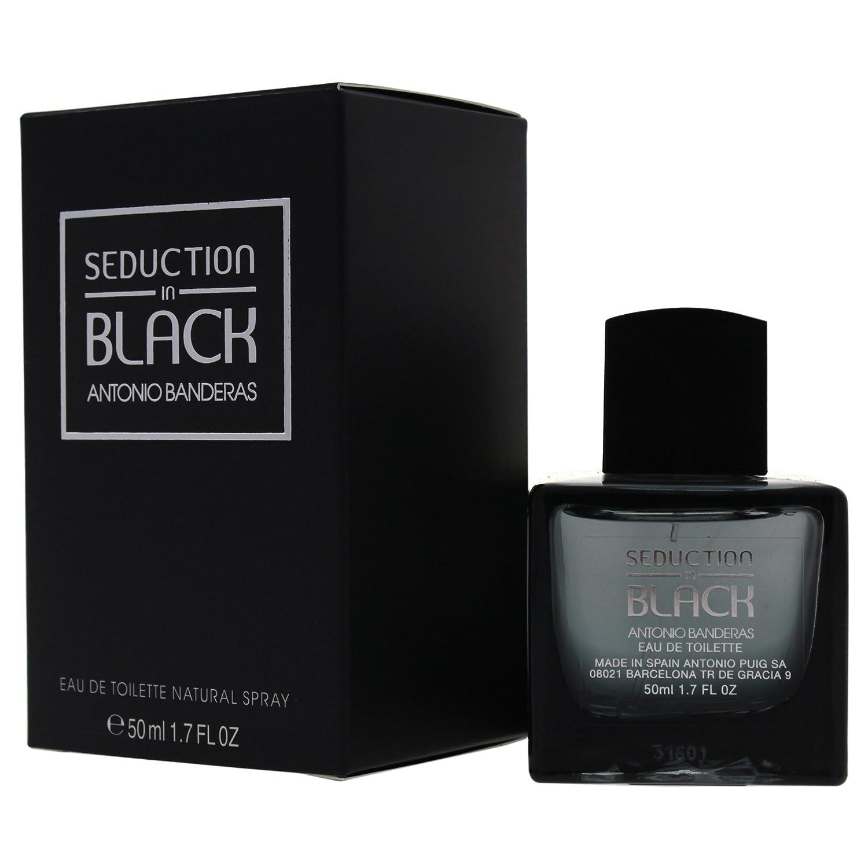 Amazon.com : Antonio Banderas Seduction in Black Eau De Toilette Spray for Men, 1.7 Ounce : Beauty