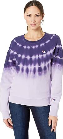 b2b38ffe9b9 Amazon.com  Champion LIFE Women s Streak Dye Cropped Tee  Clothing
