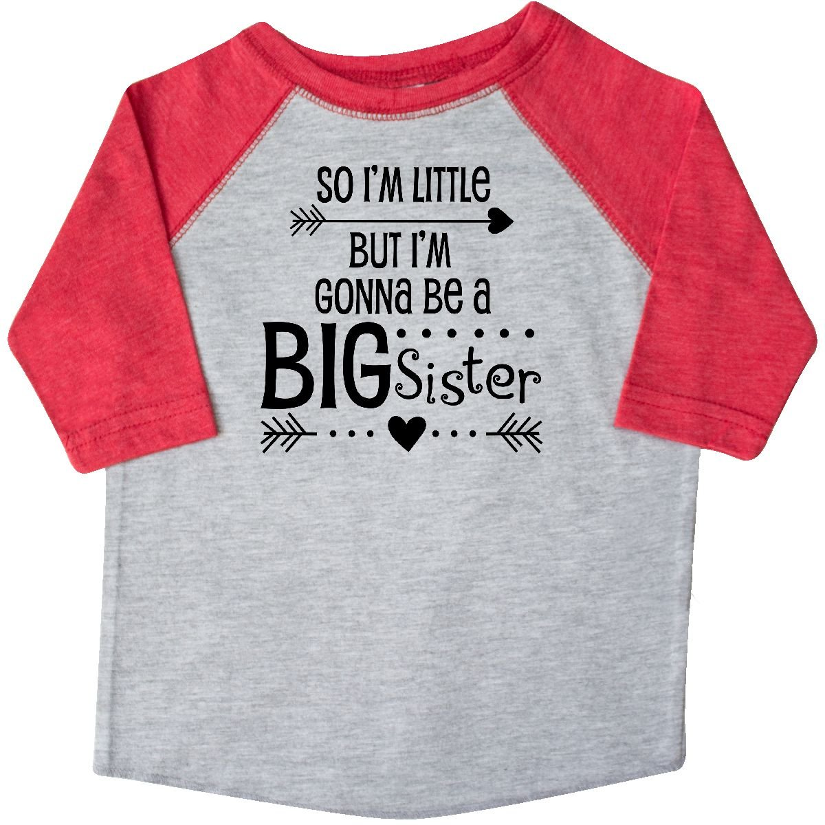 inktastic So Im Little But Im Gonna Be a Big Sister Toddler T-Shirt