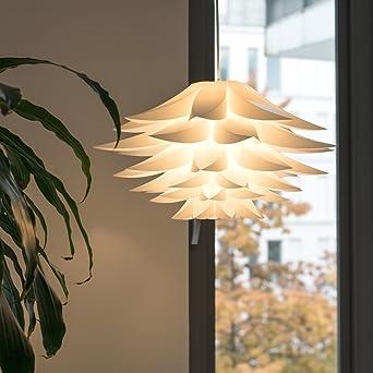 Lotus Lampenschirm Lampwin Diy Puzzle Lampe Hangeleuchtenschirm Iq