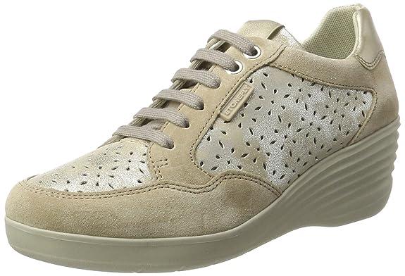 Ebony 22, Sneakers Basses Femme, Beige (Desert 221), 41 EUStonefly