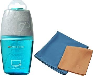 PROCARE - Limpiador de Pantalla de 100 ml con 3 paños de ...