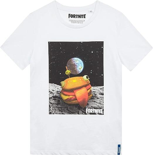 Fortnite Langarm T-Shirt Schwarz