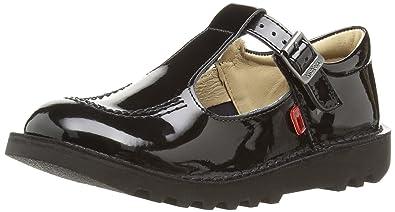 a85d8d2bac06df Kickers Girls  Kick Patent T-Bar Shoes  Amazon.co.uk  Shoes   Bags