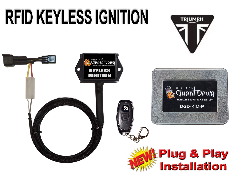Keyless Ignition Module for Triumph Daytona 675 2013-2018