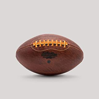 product image for Leatherhead Sports Leather Football – Hand Made from Natural, Uncorrected Leather by Master Craftsmen in Glen Rock, NJ. A Beautiful, Heirloom Quality Ball Perfect for Any Occasion.