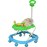 Sunbaby Hot Racer Musical Walker (Blue with Green)