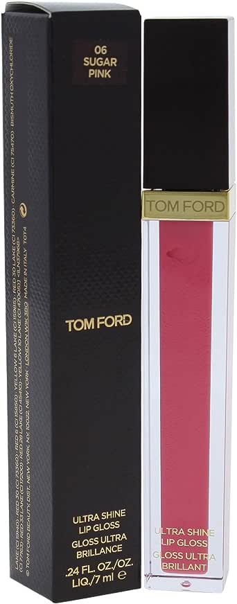 Tom Ford Ultra Shine Lip Gloss - 06 Sugar Pink, 7 ml