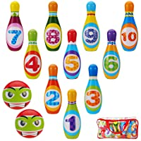 Kids Toys Bowling Set for Toddlers - Eductional Toy Active Game for Birthday Party...