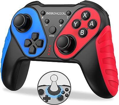BEBONCOOL - Mando inalámbrico para Nintendo Switch, interruptor Pro con función NFC para Nintendo Switch Controller, Switch Controller Gamepad Support Turbo, controlador para interruptor con Gyro Axi: Amazon.es: Electrónica