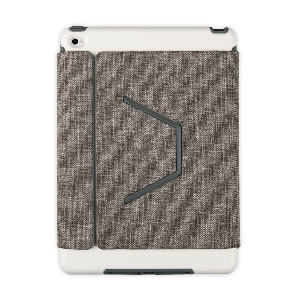 san francisco 7cf38 5632a OtterBox Symmetry Series Folio Case for iPad Air 2 ONLY - Glacier Storm  (White/Gunmetal Grey) (Certified Refurbished)