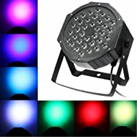 Light Effect Led Par Light Stage Lighting Light Sound Control Light Headlamp for Party Disco DJ SCHOW Light Projector 36LEDs 36W