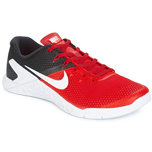 Nike Metcon 4, Zapatillas de Deporte para Hombre, (University Red/Black/White 600), 44 EU: Amazon.es: Zapatos y complementos