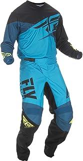 ONeal Element Villain White Adult motocross MX off-road dirt bike Jersey Pants combo riding gear set Pants W42 // Jersey X-Large