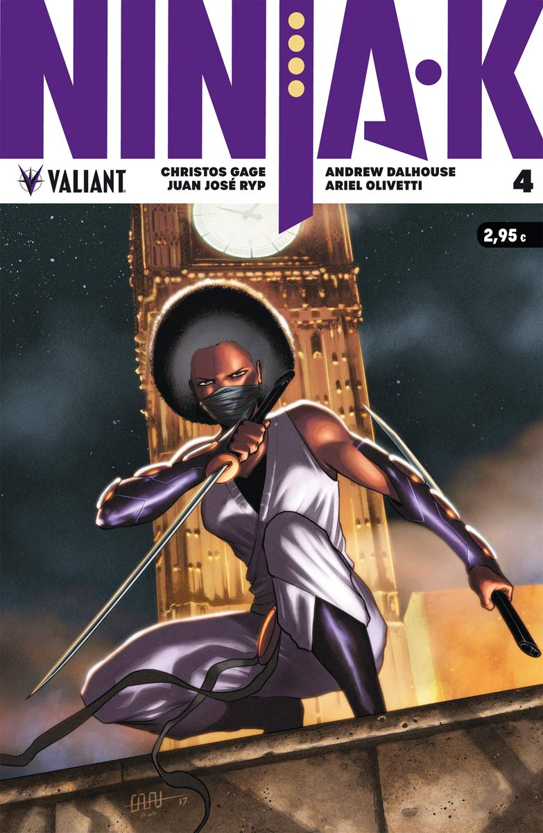 Ninja-k 4 (Valiant - Ninja-k): Amazon.es: Christos Gage ...