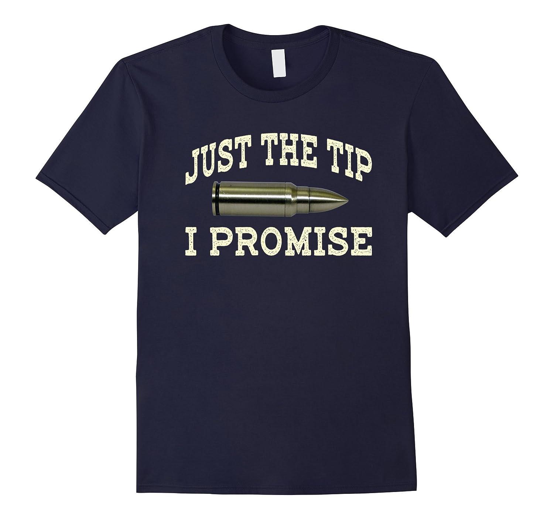 I Promise T Shirt Funny Bullet Tshirt-Tovacu