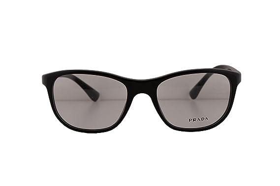 d4d48bdeb43c7 Prada PR29SV Eyeglasses 54-19-140 Brown w Demo Clear Lens UF71O1 ...