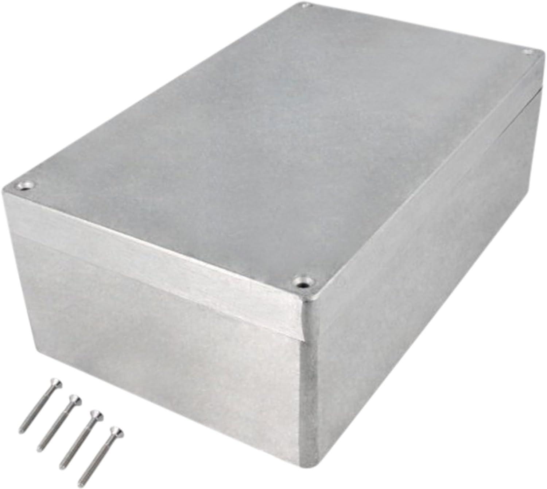 Eurosell 260 x 160 x 91 mm Elektronische Gehä use Box Anschluß dose Elektrik Alu Metall Anschluss Dose Aluminium IP65
