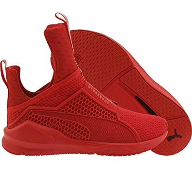 9bea36307da9e3 PUMA Women s Fenty Trainer High Risk Red High Red Athletic Shoe