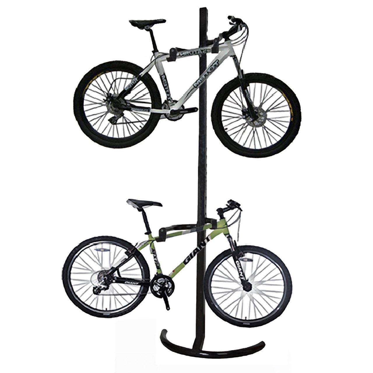 Gear Up Bike Rack Platinum Freistehender Fahrradst/änder aus Stahl f/ür 2 Bikes GUP33062