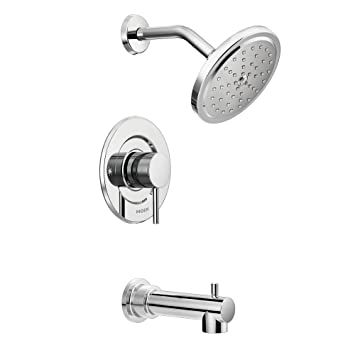 moen t3293 align tub and shower faucet body set without moenu0027s moentrol shower valve chrome