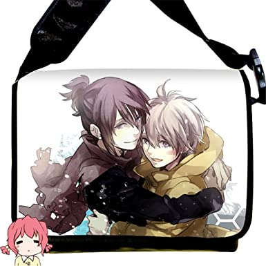 Siawasey Anime NO.6 Cartoon Cosplay Canvas Backpack Messenger Bag Shoulder Bag