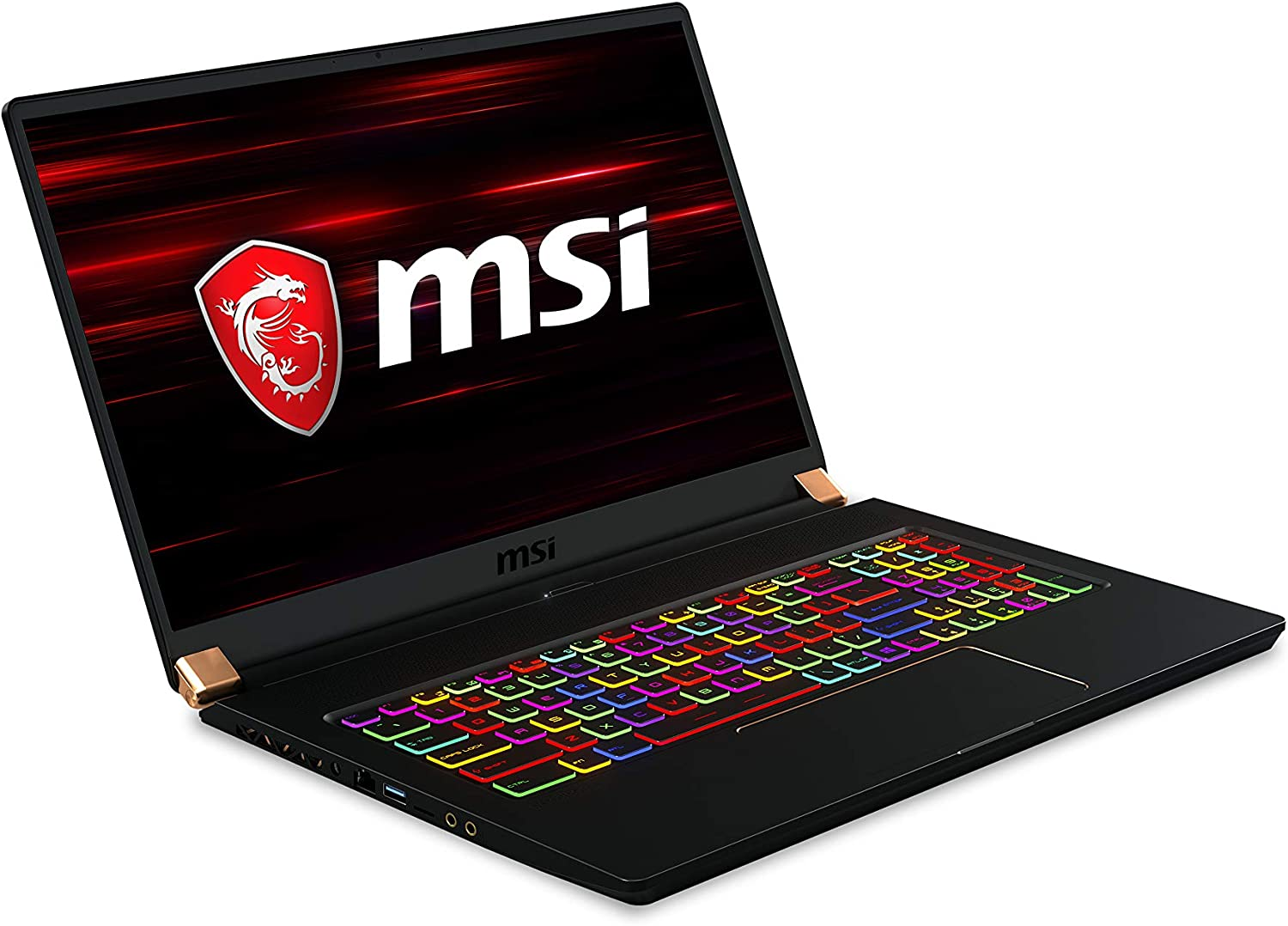 "MSI GS75 Stealth 10SE-050 17.3"" 240Hz Ultra Thin and Light Gaming Laptop Intel Core i7-10750H RTX 2060 16GB 512GB NVMe SSD Win10PRO VR Ready"