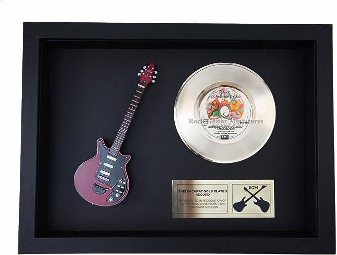 rgm1381 Brian May Queen – noche en la ópera oro disco – chapado en ...