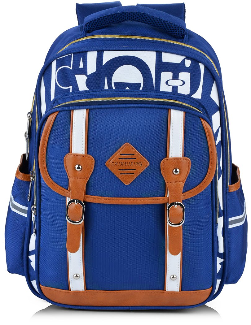 Backpack Kid,Bageek School Bags Backpacks for School Bookbag Rucksack Backpack Waterproof Backpack(blue) by Bageek (Image #1)