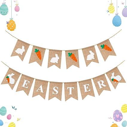 Spring Easter Chick Banner Garland