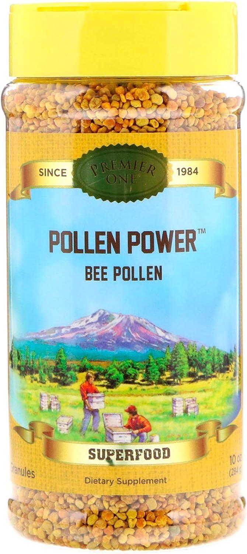 Honey Gardens Premier Pollen Power Granule, Natural (Btl-Plastic) | 4.5g 10oz