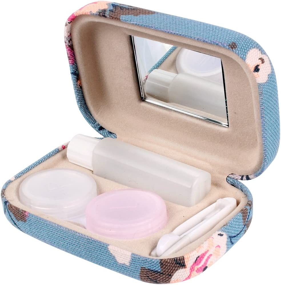 Mini travel case for color lenses and accessories fast delivery