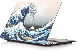 Funut for MacBook Air 11 inch Case A1370/A1465, Rubberized Hard PC Case Ultra Slim Mac Air Protective Case Cover for MacBook Air 11.6 inch (Models: A1370 / A1465) (Sea Wave)